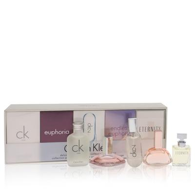 Ck One For Women By Calvin Klein Gift Set - Deluxe Fragrance Collection Includes Ck One, Euphoria, C