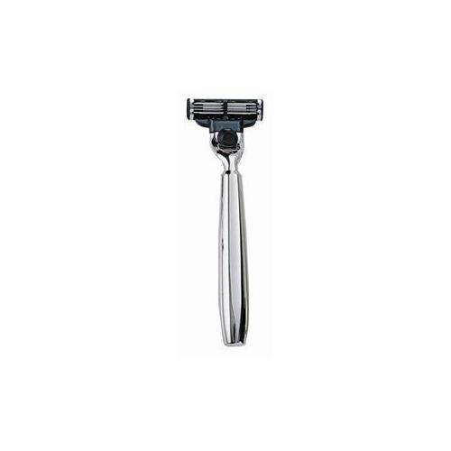 ERBE Shaving Shop Rasierer Rasierer Mach 3 metallhalterung silber glänzend 1 Stk.