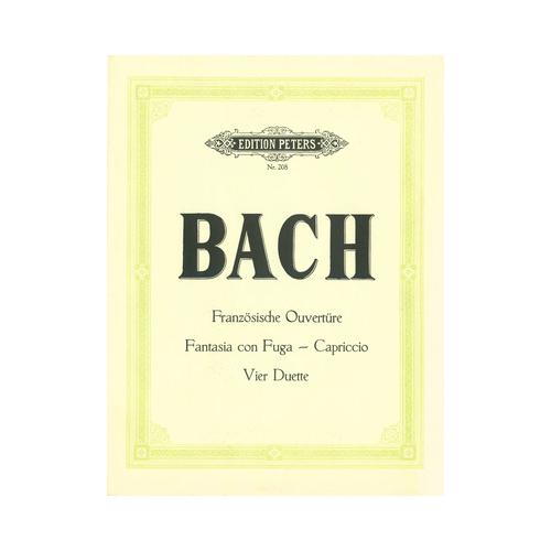 C.F. Peters Bach French Suites BWV 812-817