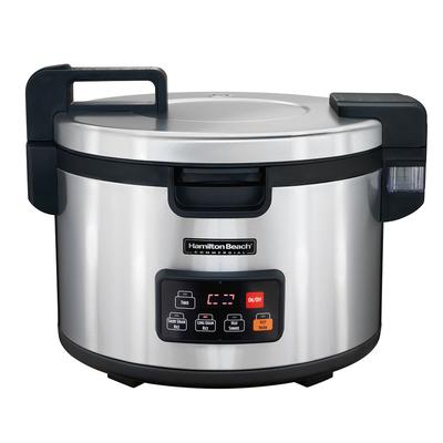 Hamilton Beach 37590 90 Cup Commercial Rice Cooker - Stainless, 240v/1ph