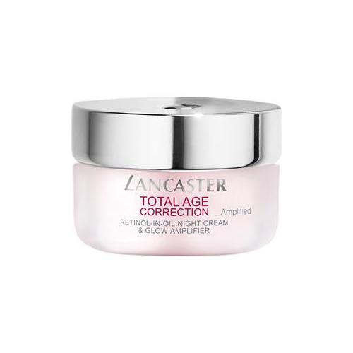 Lancaster Pflege Total Age Correction _Amplified Retinol-In-Oil Night Cream & Glow Amplifier 50 ml