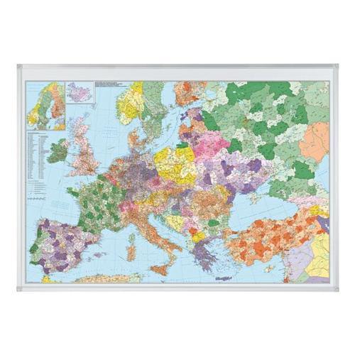 Europakarte »KA650M« grau, Franken