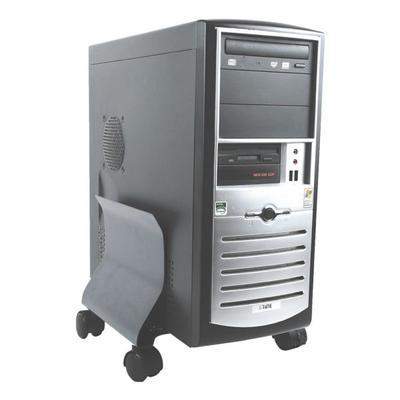 Mobiler Computer-Ständer grau, F...