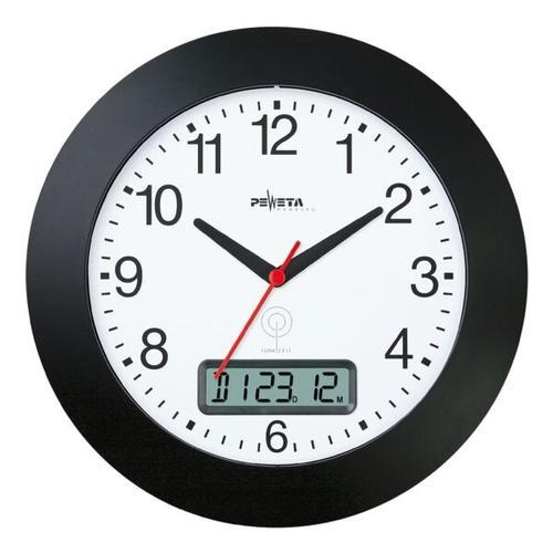 Funk-Wanduhr 51.170.312 Ø 30 cm, Peweta Uhren