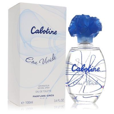 Cabotine Eau Vivide For Women By Parfums Gres Eau De Toilette Spray 3.4 Oz