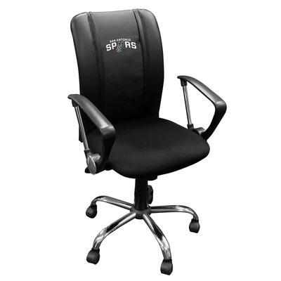"""DreamSeat San Antonio Spurs Curve Office Chair"""