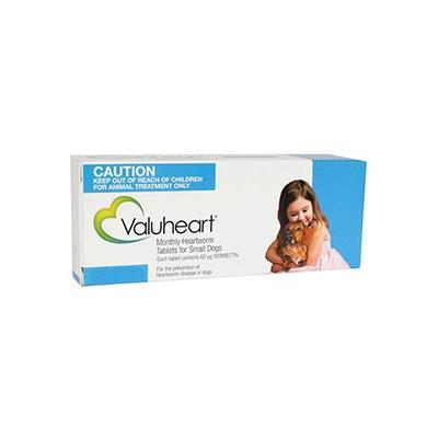 Valuheart For Small Dogs Less Than 22 Lbs Blue 6 Pack