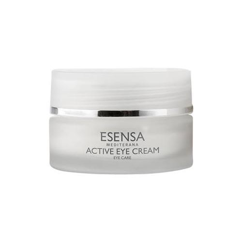Esensa Mediterana Gesichtspflege Eye Essence - Augenpflege Creme bei Falten & Schwellungen Active Eye Cream 15 ml