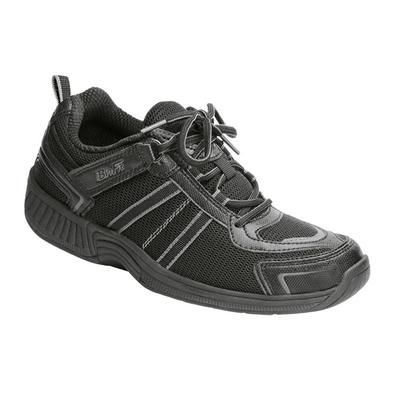 #1 Plantar Fasciitis Sneakers, Premium Arch Support, Tie Less, Women's Sneakers | OrthoFeet Orthotic Shoes, Tahoe, 8.5 / Medium / Black