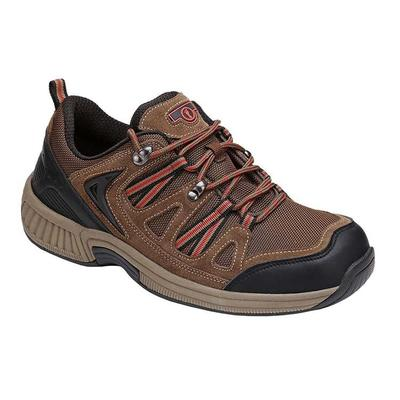 Orthotic Neuropathy Sneakers, Premium Arch Support, Enhanced Comfort, Men's Sneakers | OrthoFeet Orthotic Shoes, Sorrento, 8.5 / Medium / Brown