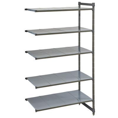 "Cambro CBA184884S5580 Polymer Solid Add-On Shelf Kit - 48""L x 18""W x 84""H"