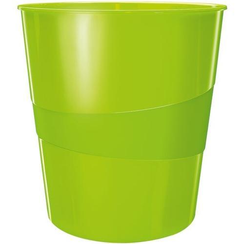 Papierkorb »WOW 5278« grün, Leitz, 29x32.4 cm