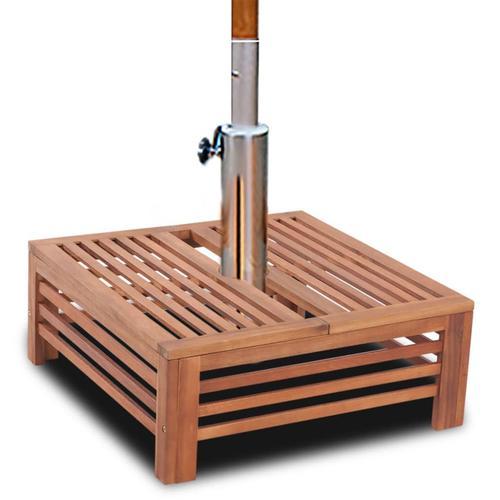 vidaXL Sonnenschirmständer-Verkleidung aus Holz