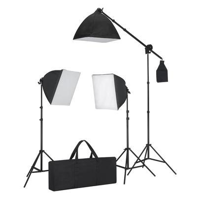 vidaXL Studiobeleuchtung-Set 3 F...
