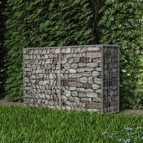 vidaXL Gabionenkorb Stahl 150×50×100 cm