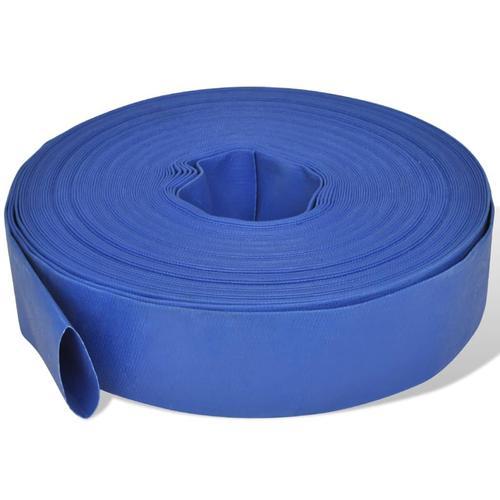 vidaXL Wasser-Flachschlauch 50 m 2 Zoll PVC