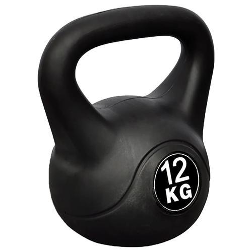 vidaXL Kettlebell Kugelhantel Trainingshantel Gewicht 12KG