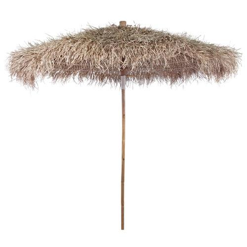 vidaXL Bambus-Sonnenschirm mit Bananenblatt-Dach 210 cm