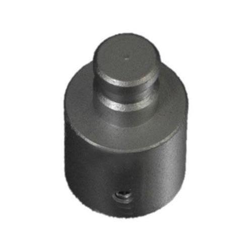 Liedeco Trägerverlängerung, für Gardinenstangen Ø 20 mm silberfarben Gardinenstangenhalter Zubehör Gardinen Vorhänge Trägerverlängerung