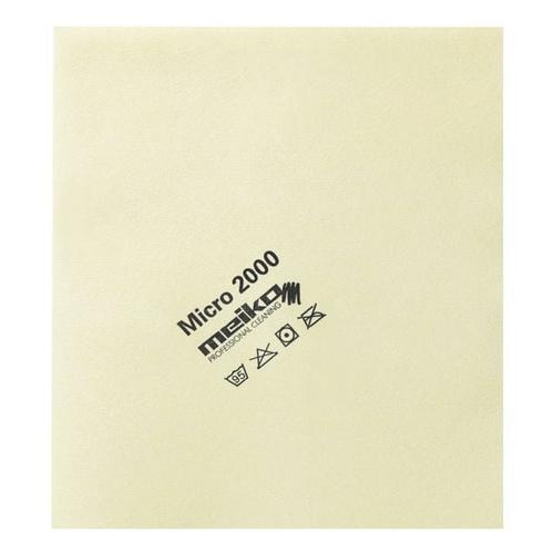Microfasertuch »micro 2000« gelb, Meiko, 45 cm