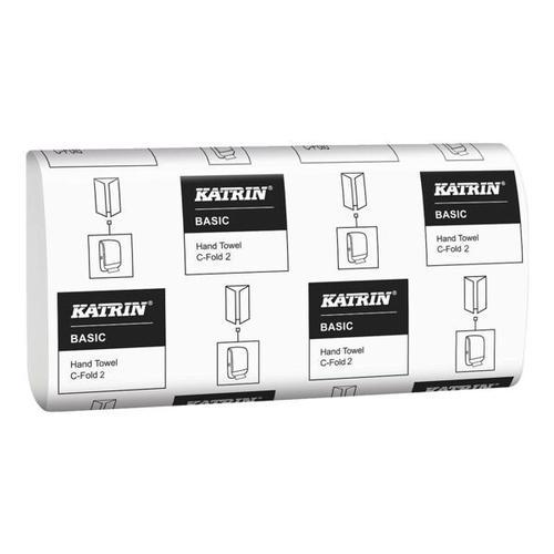 Papierhandtücher weiß, Katrin, 24 cm