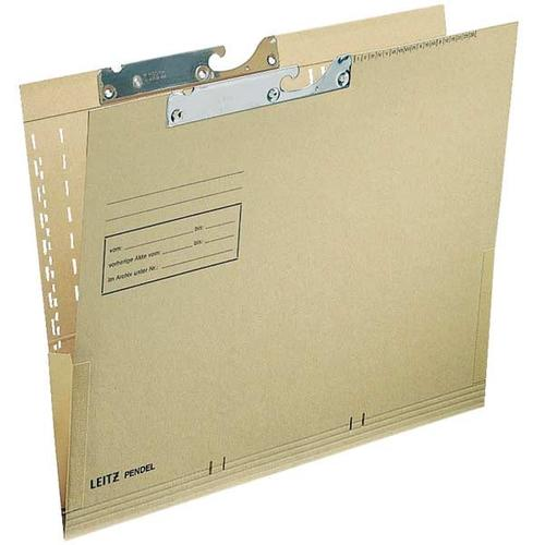 Pendeltaschen »2116« braun, Leitz, 29.7x21 cm