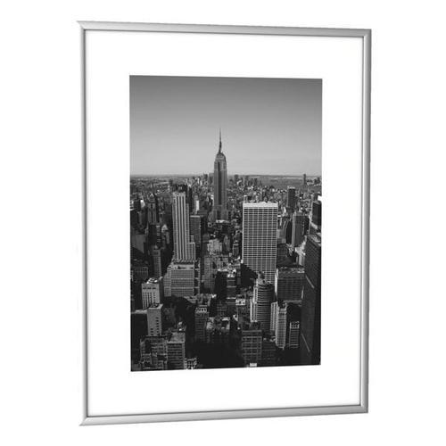 Bilderrahmen 30,7 x 40,7 cm alu, Paperflow, 30.7x40.7 cm