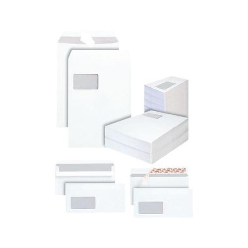 Jumbo-Standard-Set »Versand« DL mit Fenster - 2500 Stück, Steinmetz, 22x11 cm