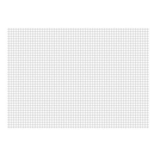 Karteikarten A4 quer, kariert weiß, Brunnen, 29.7x21 cm