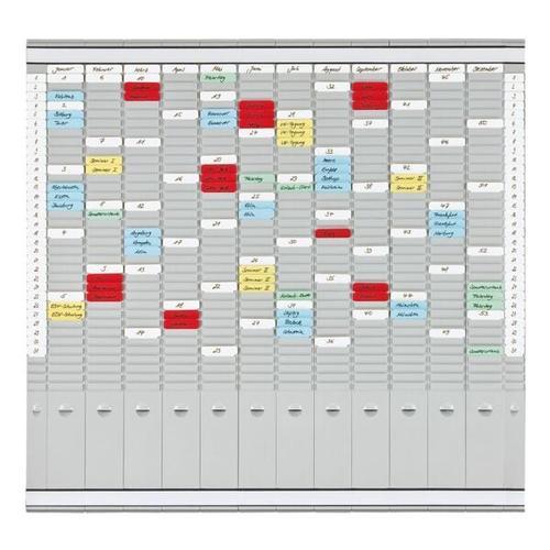 T-Kartenplaner »PV-SET4« grau, Franken