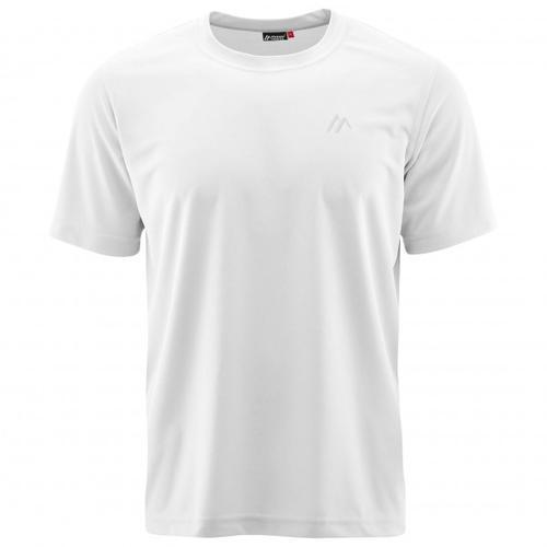 Maier Sports - Walter - T-Shirt Gr S grau/weiß