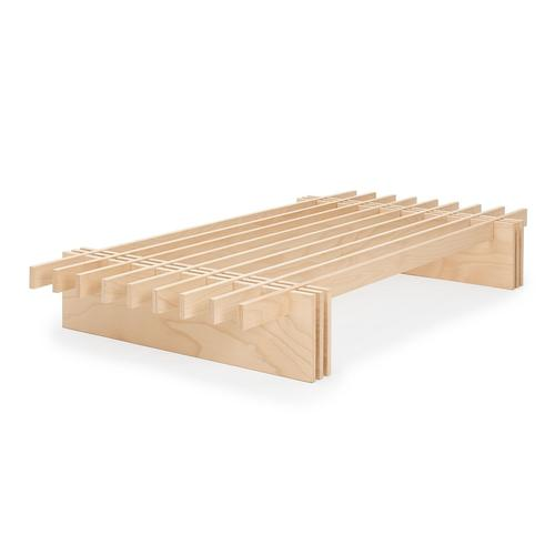 Tojo Parallel Bett B120 cm x L200 cm x H25 cm