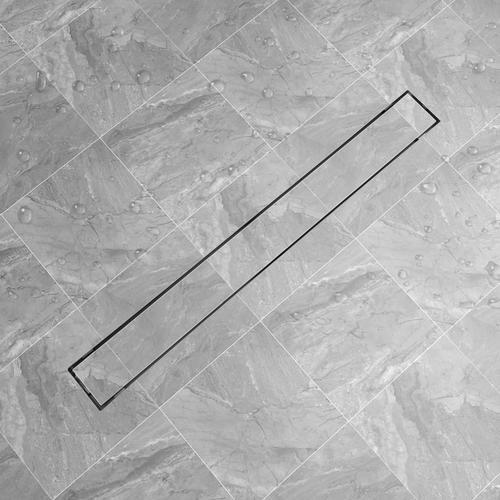 vidaXL Duschablauf Linear 1030x140 mm Edelstahl