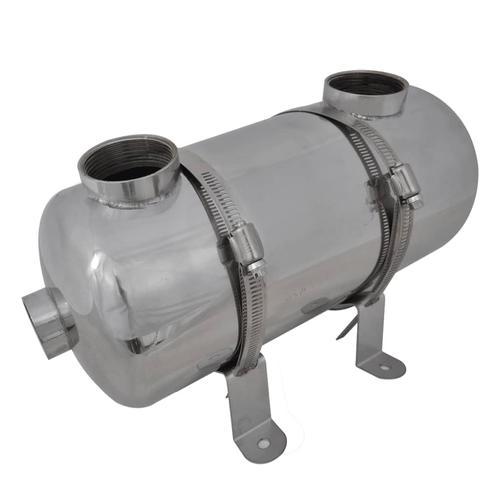 vidaXL Pool Wärmetauscher 355 x 134 mm 40 kW