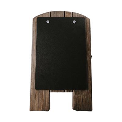 """Risch TALKERCOUNTER CHALK Countertop Chalkboard Easel - 9 1/2"""" x 13"""", Wood"""