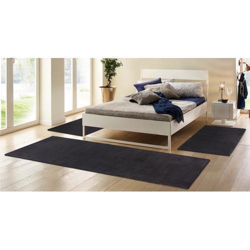 my home Bettumrandung Jescha grau Bettumrandungen Läufer Teppiche
