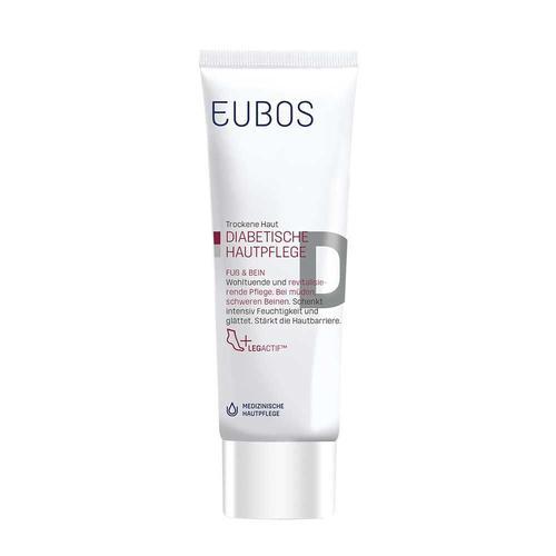 Eubos Diabetische Pflege Fuß+Bein Creme - 100ml