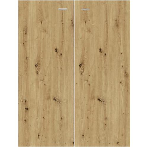 Schranktür Mio, (2 Stk.) beige Zubehör für Kleiderschränke Möbel