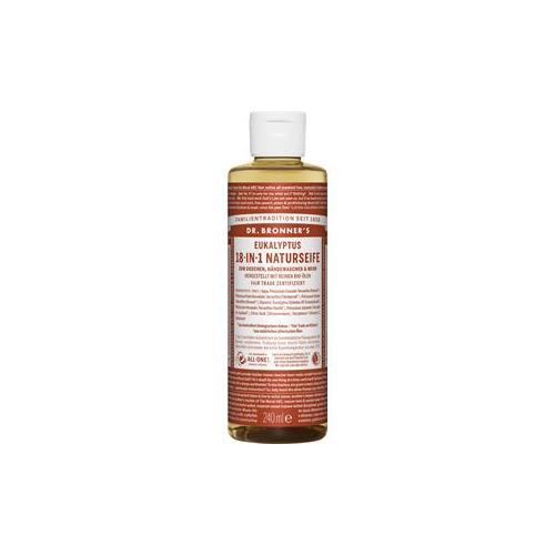 Dr. Bronner's Pflege Körperpflege Eukalyptus 18-in-1 Naturseife 475 ml