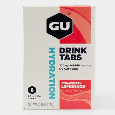 GU Hydration Drink Tabs 8 Pack Nutrition Strawberry Lemonade
