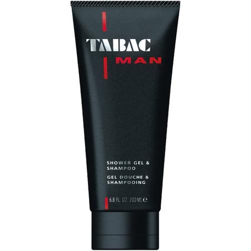 Tabac Man Badepflege Showergel & Shampoo 200 ml Duschgel
