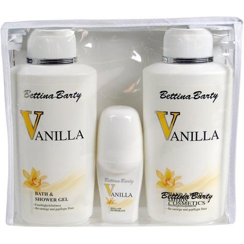 Bettina Barty Vanilla (Bath & Duschgel 500 ml, Deo 50 ml) Körperpflegeset