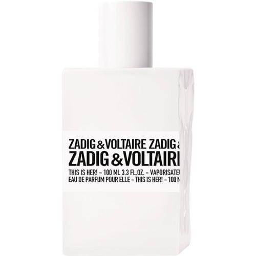 Zadig & Voltaire This is Her! Eau de Parfum (EdP) 100 ml Parfüm