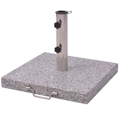 vidaXL Sonnenschirmständer 30 kg quadratisch 48 cm