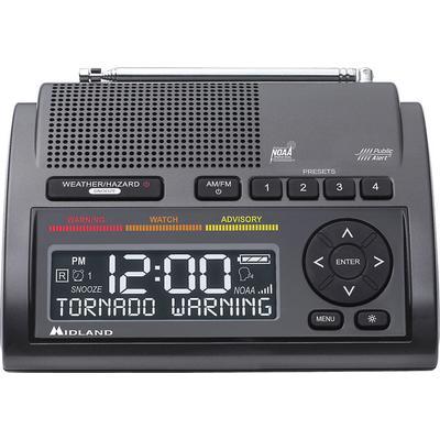 Midland WR400 Weather Alert radio with Alarm Clock