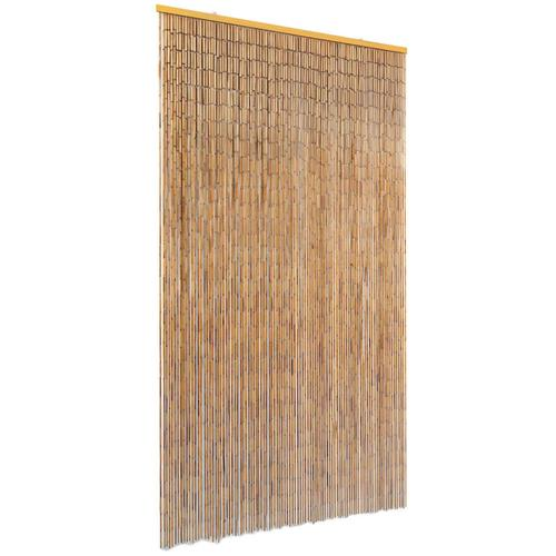 vidaXL Insektenschutz Türvorhang Bambus 100 x 200 cm
