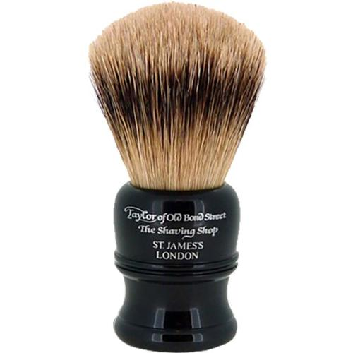 Taylor of Old Bond Street Super Badger Shaving Brush black Rasierpinsel