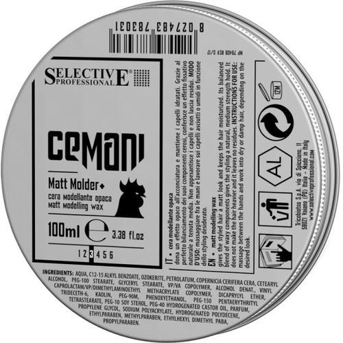 Selective Professional Cemani Matt Molder 100 ml Haarwachs