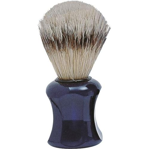 Erbe Shaving Shop Rasierpinsel Basic, Naturborsten, blau