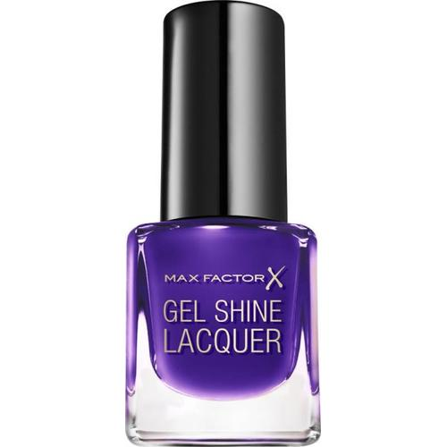 Max Factor Mini Gel Shine Lacquer 35 Lacquered Violet 4,5 ml Nagellack